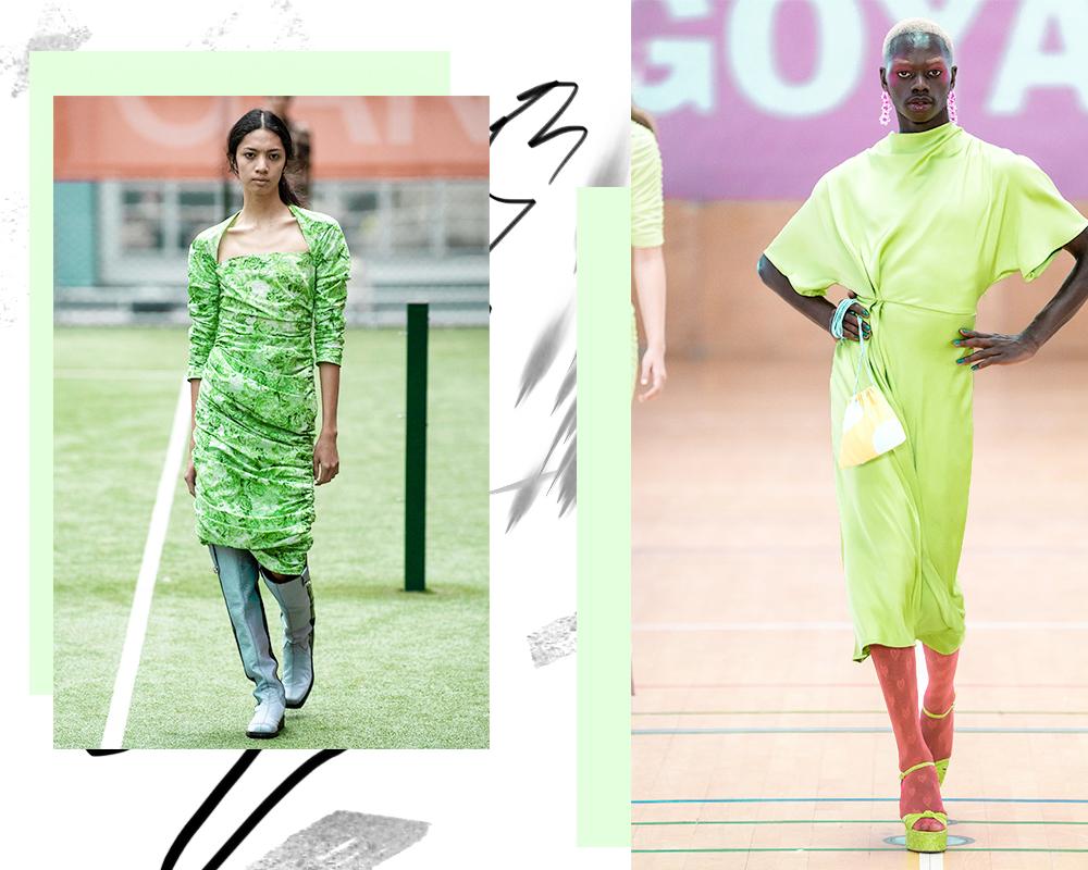 verde color del verano 2020