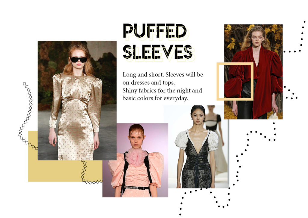puffed sleeves