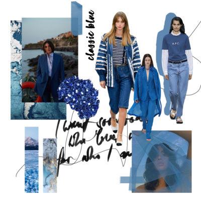 Colores 2020: Classic Blue