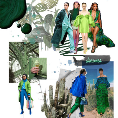 Color trends: Azul y verde